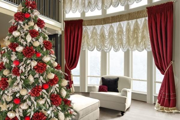 eurofirany ozdoby świąteczne - styl i wdzięk